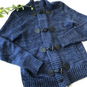 Express Cardigan- Toggle and Zippered Front